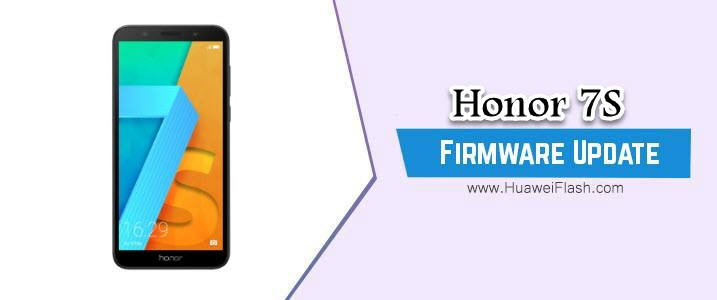 Honor 7S Stock Firmware