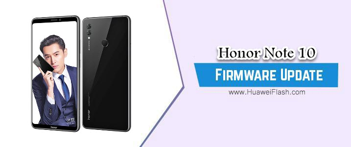 Honor Note 10 Stock Firmware