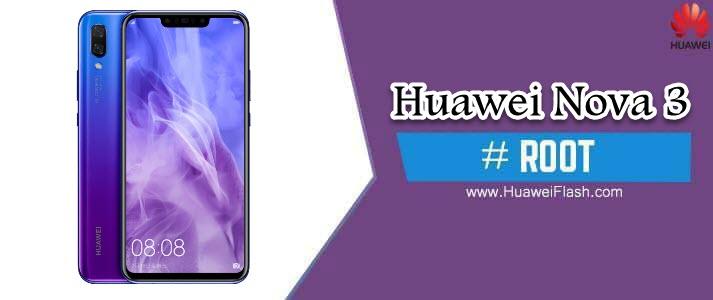 ROOT Huawei Nova 3