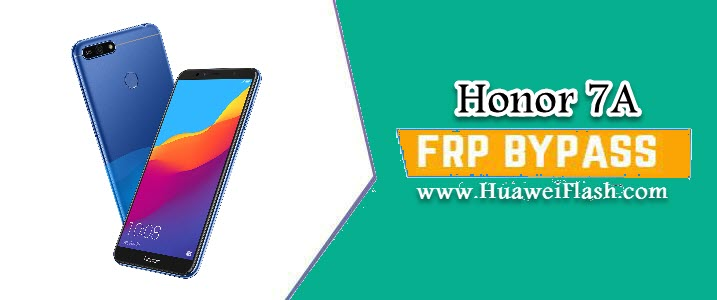 Bypass FRP lock on Honor 7A