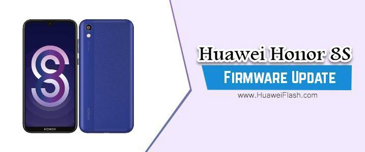 Huawei Honor 8S Stock Firmware