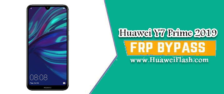 Bypass FRP Huawei Y7 Prime 2019