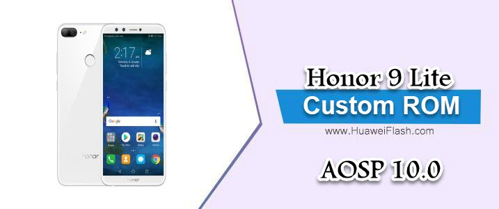 AOSP 10.0 on Honor 9 Lite