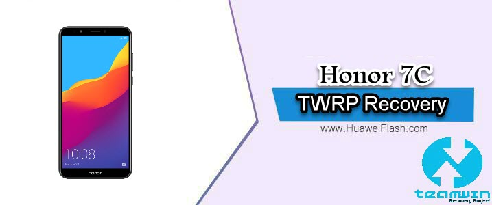 TWRP Recovery on Honor 7C