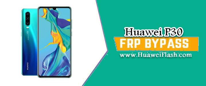 Bypass FRP Huawei P30