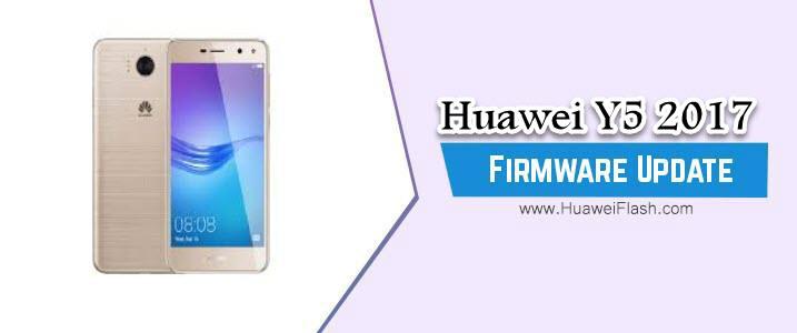 Flash Huawei Y5 2017