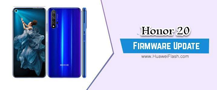 Honor 20 Stock Firmware