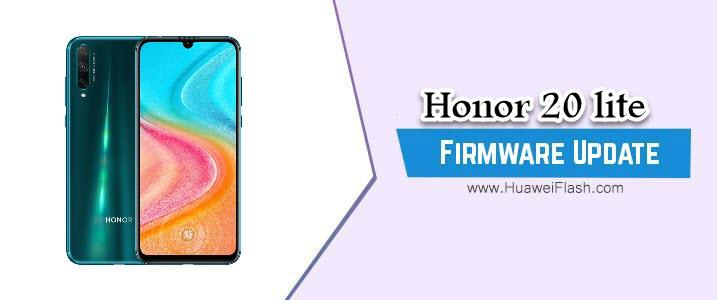 Honor 20 lite Stock Firmware