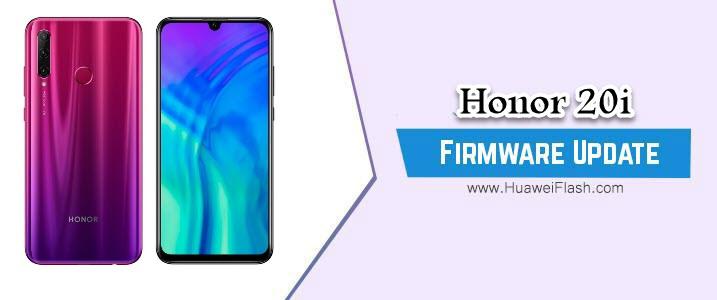 Honor 20i Stock Firmware