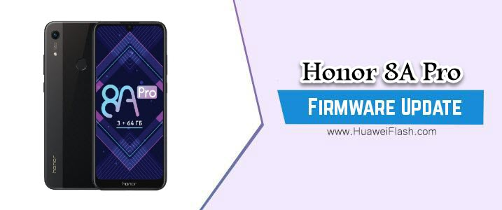 Honor 8A Pro Stock Firmware