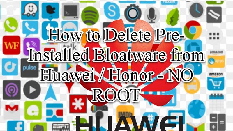 Delete Pre-Installed Bloatware