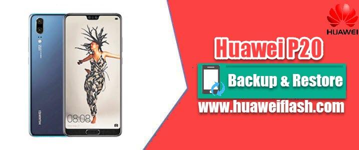 Huawei P20 backup
