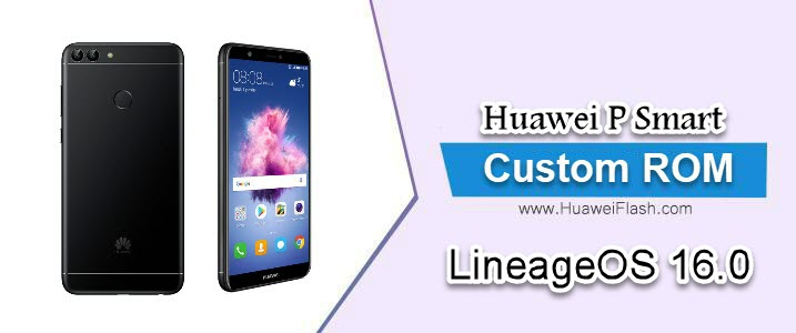 LineageOS 16.0 on Huawei P Smart