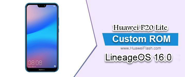 LineageOS 16.0 on Huawei P20 Lite