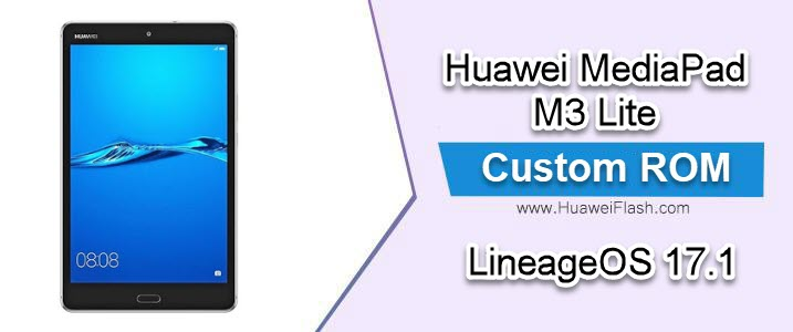 LineageOS 17.1 on Huawei MediaPad M3 Lite