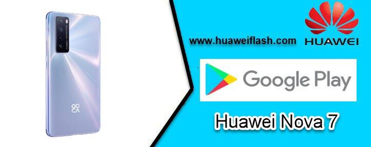 Google Play Store on Huawei Nova 7