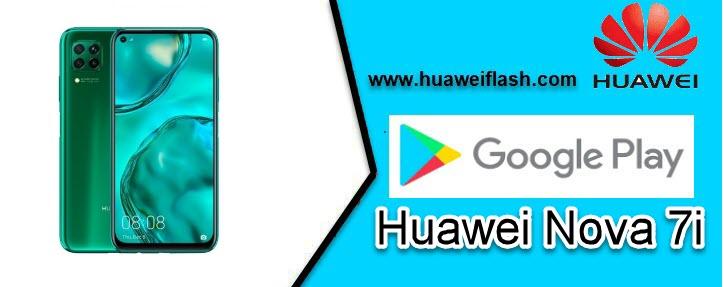 Google Play Store on Huawei Nova 7i