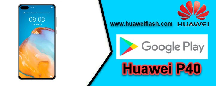 Google Play Store on the Huawei P40