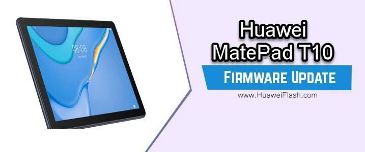 Huawei MatePad T10 Firmware