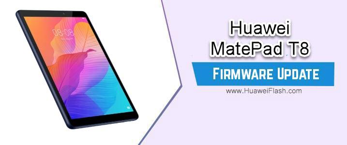 Huawei MatePad T8 Firmware