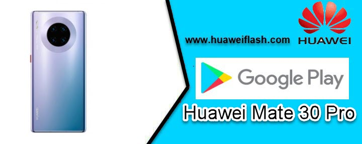 Play Store on Huawei Mate 30 Pro