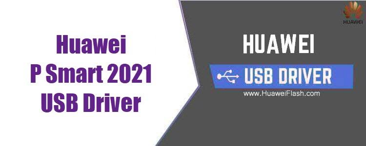 Huawei P Smart 2021 USB Driver