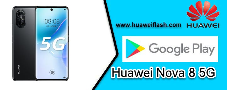 Google Play services in Huawei Nova 8 5G
