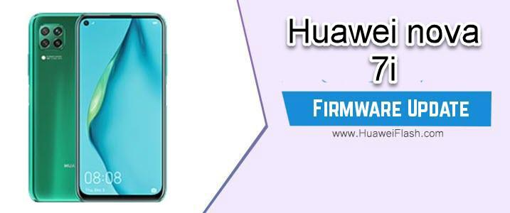 Huawei Nova 7i Stock Firmware