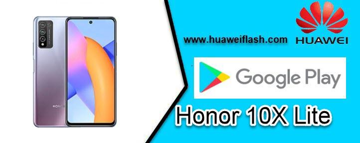 Google Play Store Honor 10X Lite