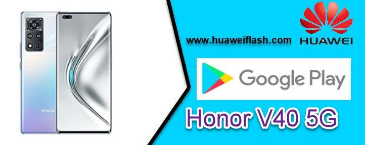 Honor V40 5G Install Google Apps