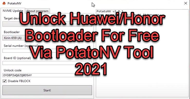 Unlock Huawei/Honor Bootloader