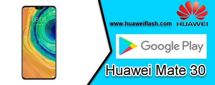 Play Store on Huawei Mate 30
