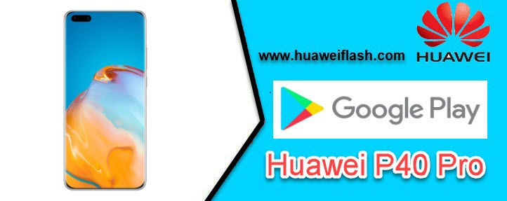 Play Store on Huawei P40 Pro