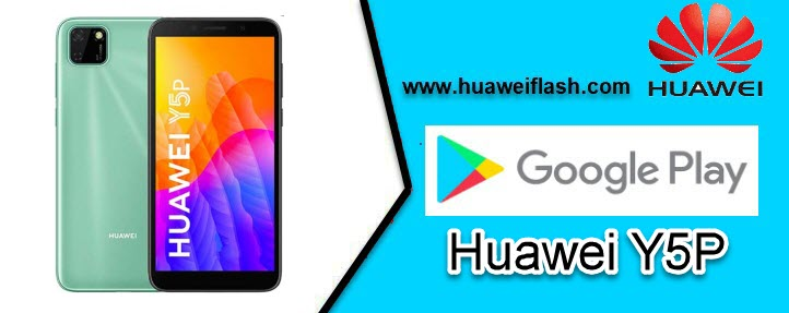 Play Store on Huawei Y5P