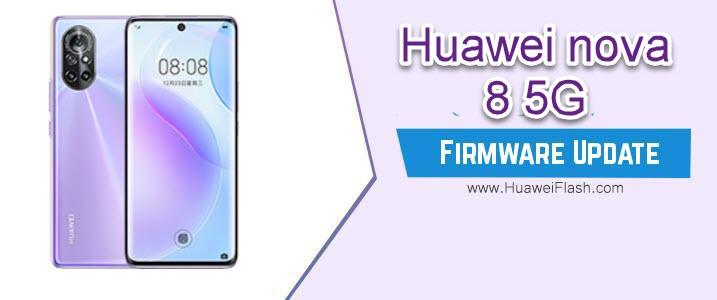 Huawei Nova 8 5G Firmware