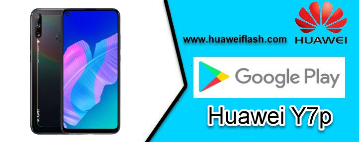 Play Store on Huawei Y7p