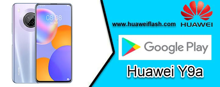 Google play store on Huawei Y9A