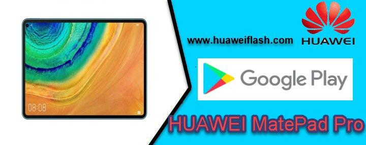 Google Apps on HUAWEI MatePad Pro