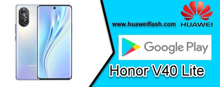 Google Service apps on your Honor V40 Lite