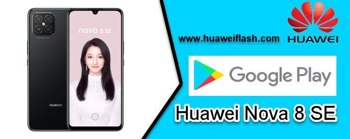 Google Play Store on Huawei Nova 8 SE