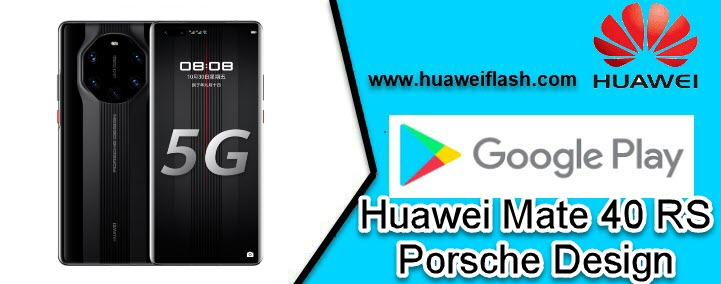 Play Store in Huawei Mate 40 RS Porsche Design
