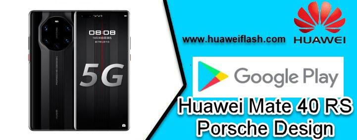 play store Huawei Mate 40 RS Porsche Design