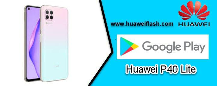 Huawei P40 Lite Google Play Store
