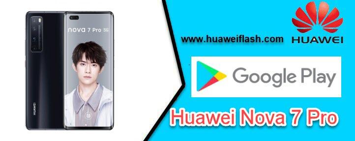 Google Play store on Huawei Nova 7 Pro