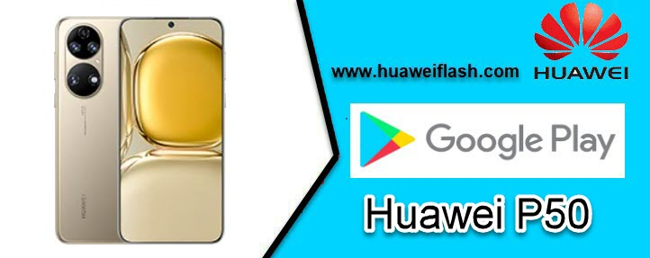 Play Store on Huawei P50