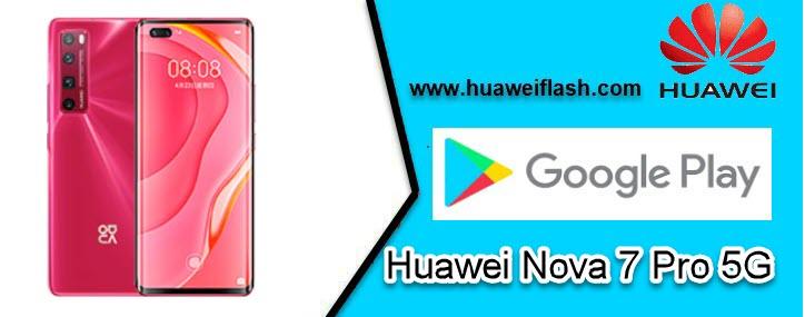 Google Play Store on Huawei Nova 7 Pro 5G