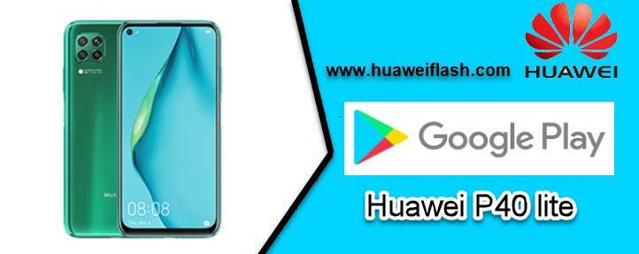 Google Play on Huawei P40 lite