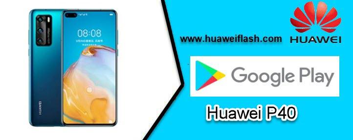Google Play on Huawei P40