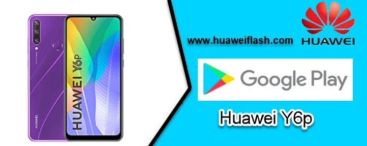 Google Store in Huawei Y6p