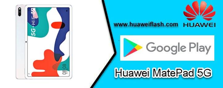 Huawei MatePad 5G Google Play Store
